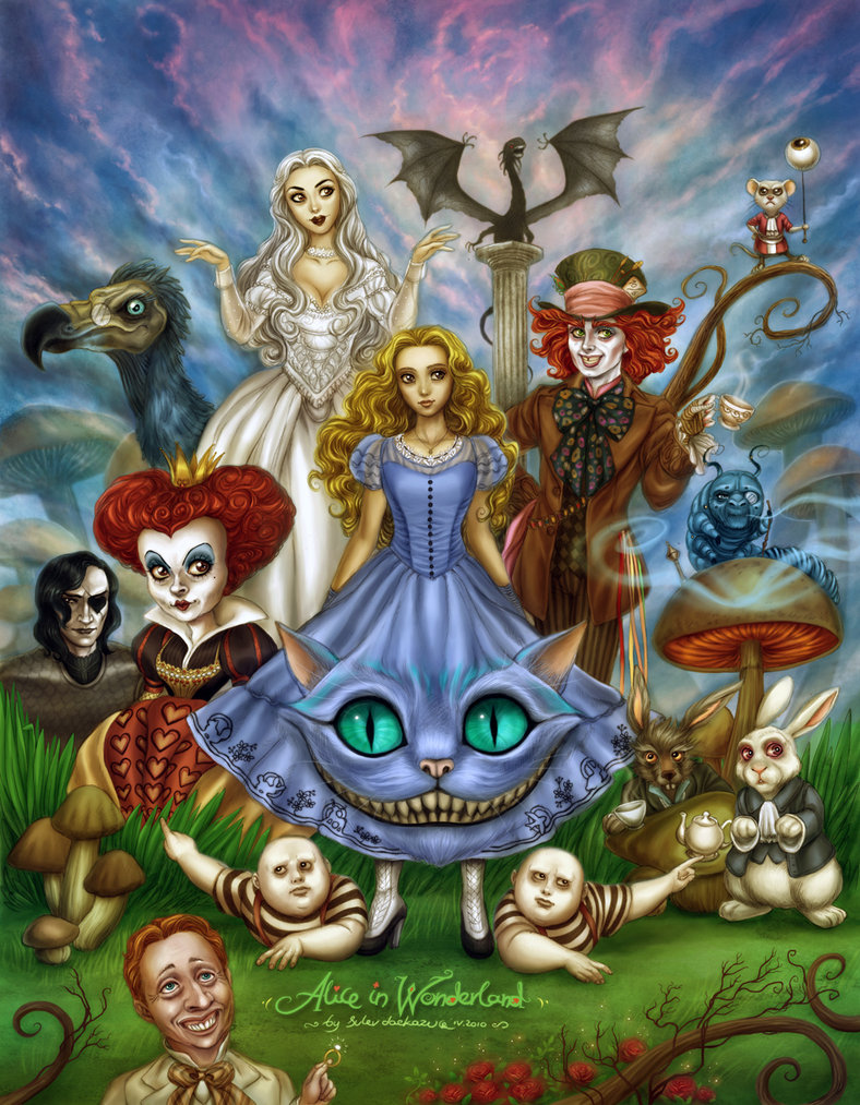 disorders in alice in wonderland curiosity and creation disorders in alice in wonderland